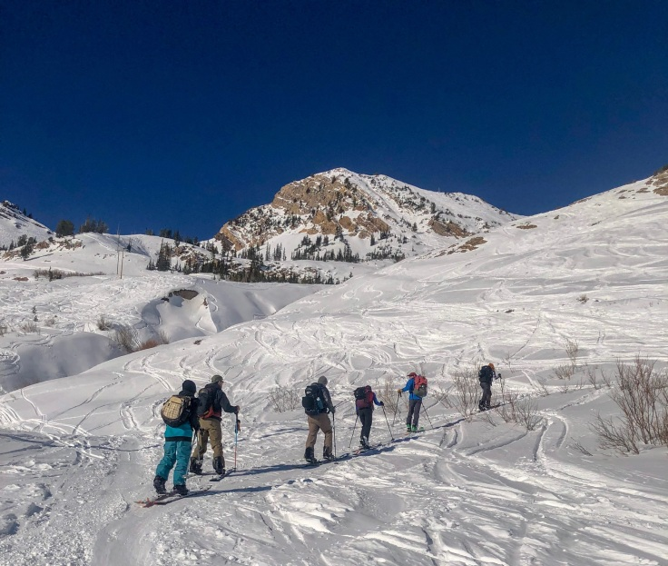 touring in the wasatch